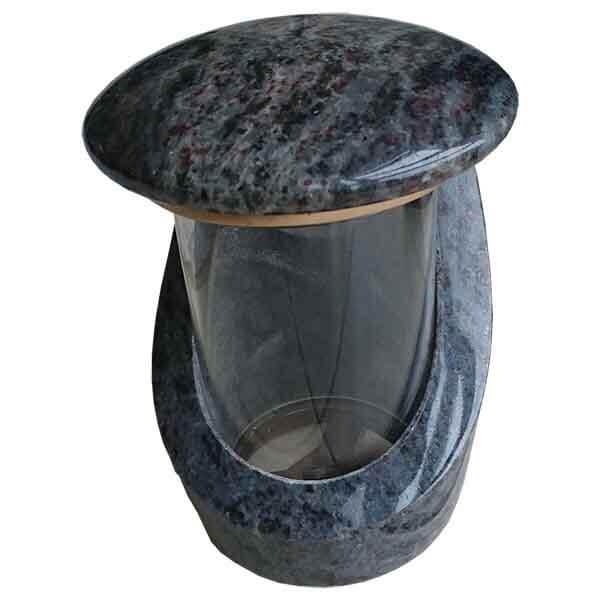 lanterne de jardin en granit
