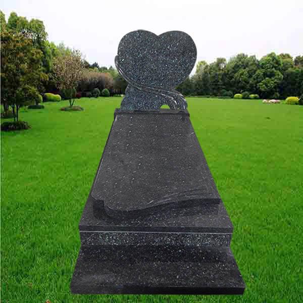 pierre tombale labrador bleu