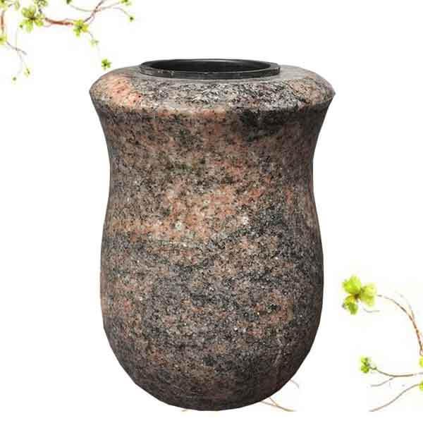 vase granit funeraire