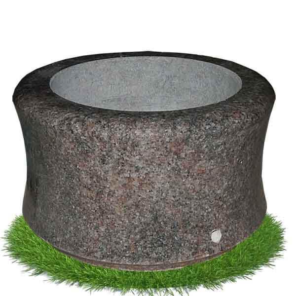 vase granit pour cimetière