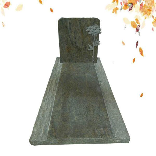 Conception simple de la pierre tombale