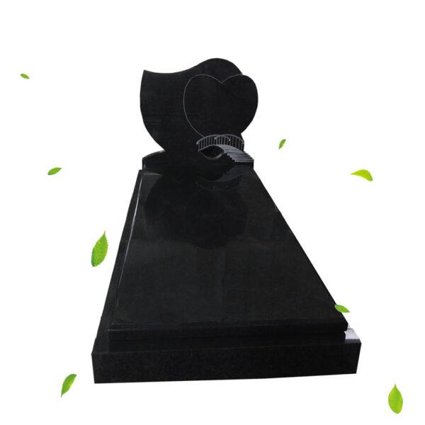 Pierre Tombales granit noir image