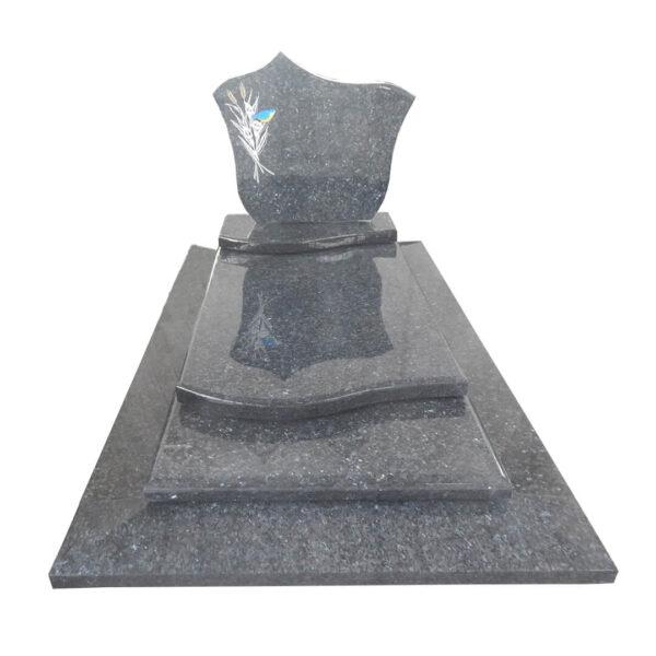 pierre tombale labrador bleu prix