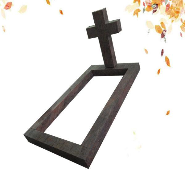 pierre tombale en croix