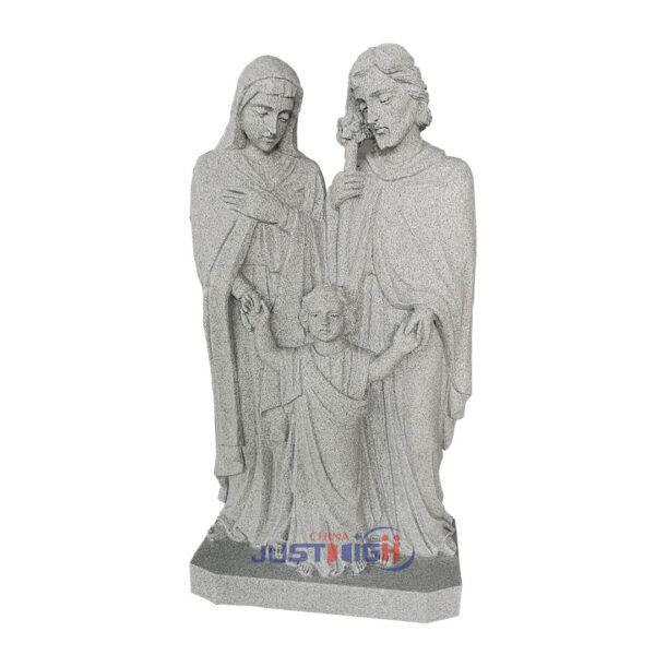 Gris Sainte Famille Sculptures Religieux