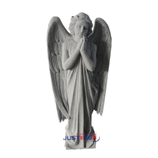 fabricant de pierre tombale de granit de statue d'ange