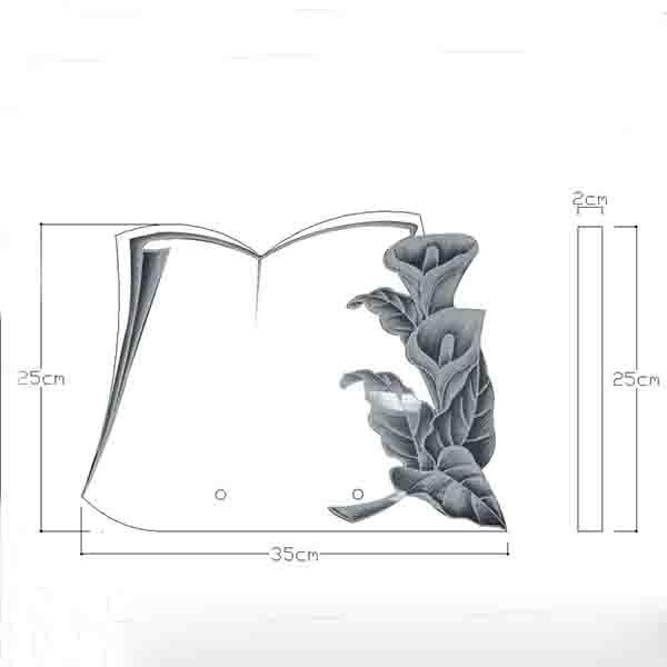 plaques funeraires creations CAO