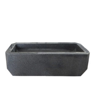 granite effect plant pot