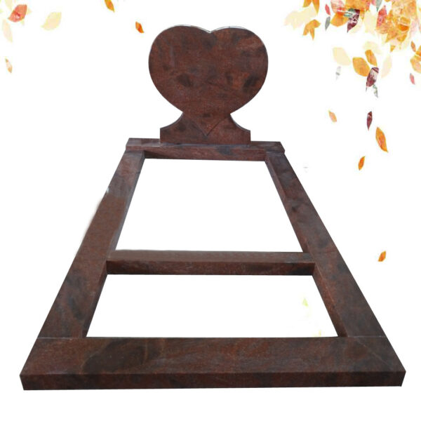 Monument stele au coeur